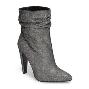 Steve Madden Womens Calysta Party Ankle Boots (7)